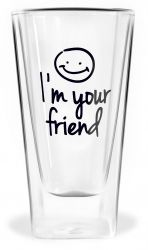 Glas met Dubbele Wand | I'm Your Friend