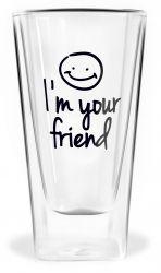 Doppelwandiges Glas | Ich bin Ihr Freund