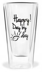 Verre Double Paroi | Happy! Day by day