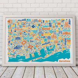 Barcelona-Poster