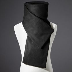 D'Arc Scarf | Black Herringbone