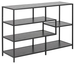 Bookcase Stanley Large | Black