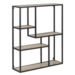 Bookcase Stanley Low | Oak / Black