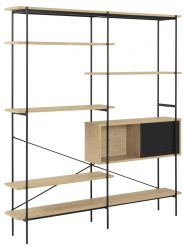 Wall Unit Angie | Oak