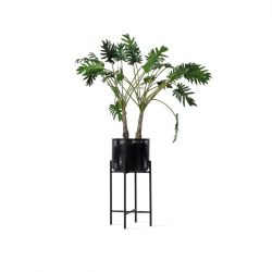 Outdoor Plantenpot Ivo Large | Zwart