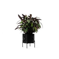 Outdoor Plantenpot Ivo medium | Zwart