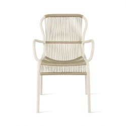 Outdoor Dining Chair Rope Loop | Beige