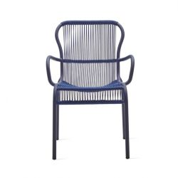 Outdoor Dining Chair Rope Loop | Indigo