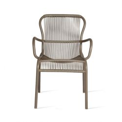 Outdoor Dining Chair Rope Loop | Taupe