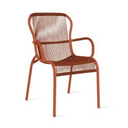 Outdoor Dining Chair Rope Loop | Terracotta