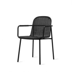Outdoor Dining Chair Wicked | Black