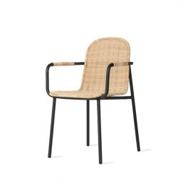 Outdoor Dining Chair Wicked | Natural