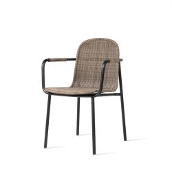 Outdoor Dining Chair Wicked | Taupe