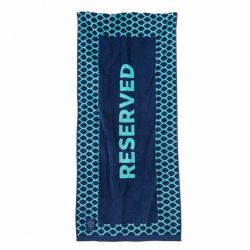 Beach Towel Dark Blue & Light Blue | Reserved