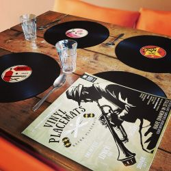 Placemats Vinyl Set van 4