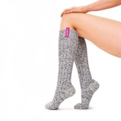 Woman's Socks High Small | Bubblegum