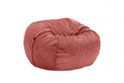 Sitzsack Cord Velours | Terrakotta