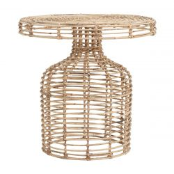 Table d'appoint en Rotin | Naturel