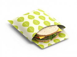 Reusable Sandwich & Snack Bags Set of 2 | Vegan