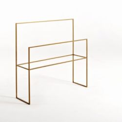 Bath Hanger Barel | Gold
