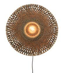 Wall Lamp Bali 60 cm | Black / Naturel