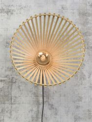Wall Lamp Bromo Asymmetrical 50 cm | Natural