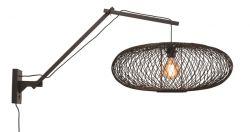 Wall Lamp Cango 60 cm | Black