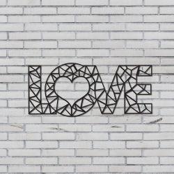 """Wanddekoration """"Liebe"""