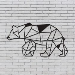 Wall Decoration Bear | Black