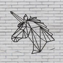 Wanddekoration Einhorn
