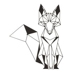 Wall Decoration Fox