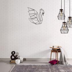 Wanddekoration Schwan