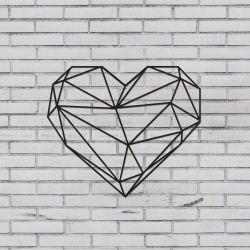 Wanddekoration Herz