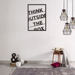 "Wanddekoration ""Think Outside The Box"" XL 