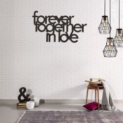 "Wall Decoration ""Forever Together In Love"""