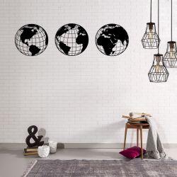 Wanddekoration Globen