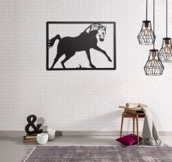 Wanddekorationspferd