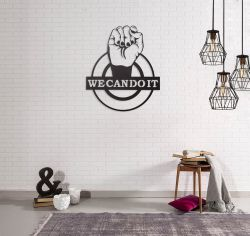 Wall Decoration We Can Do It