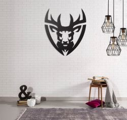 Wanddekoration Hirsch