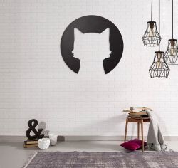 Wall Decoration Cat Round