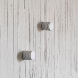 2-er Set Wandgarderoben | Weiß