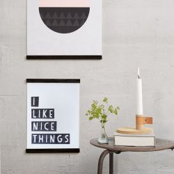 Wall Sticks Magnets | Black
