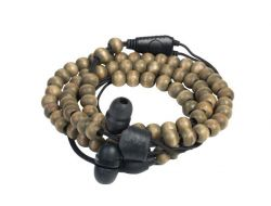 Armband Oortjes Natural Wrap | Walnoot