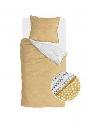 Bettbezug Dots & Doodles | Gelb