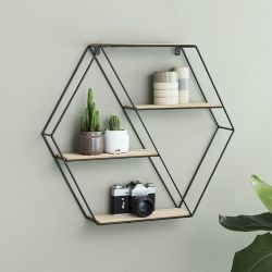 Wall Shelf Marbella Wood & Metal