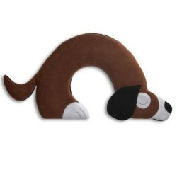 Warming Pillow Bobby the Dog | Dark Brown