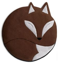 Warming Pillow Luca the Fox | Chocolate