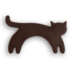 Warming Pillow Minina Cat Large | Chocolate