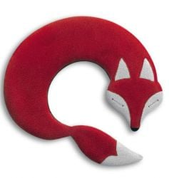 Warming Pillow Noah the Fox | Red/Black