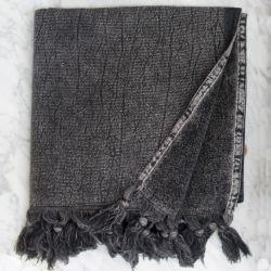 Handtuch Wash 100 x 50 cm | Holzkohle